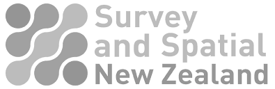 Survey and Spatial NZ Logo Grey