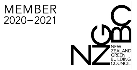 NZGBC M Logo White 20mm 2020 2021
